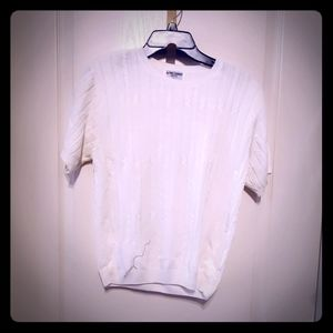 Alfred Donner White Blouse